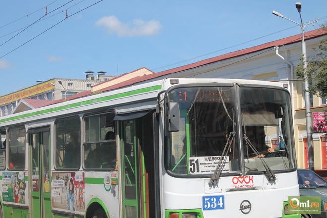 «Газпром» предложил завезти в Омск 100 газовых автобусов
