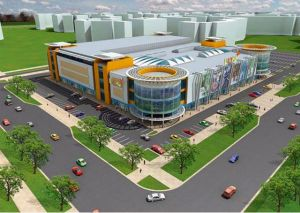 В Омске будет построен новый торгово-развлекательный центр.