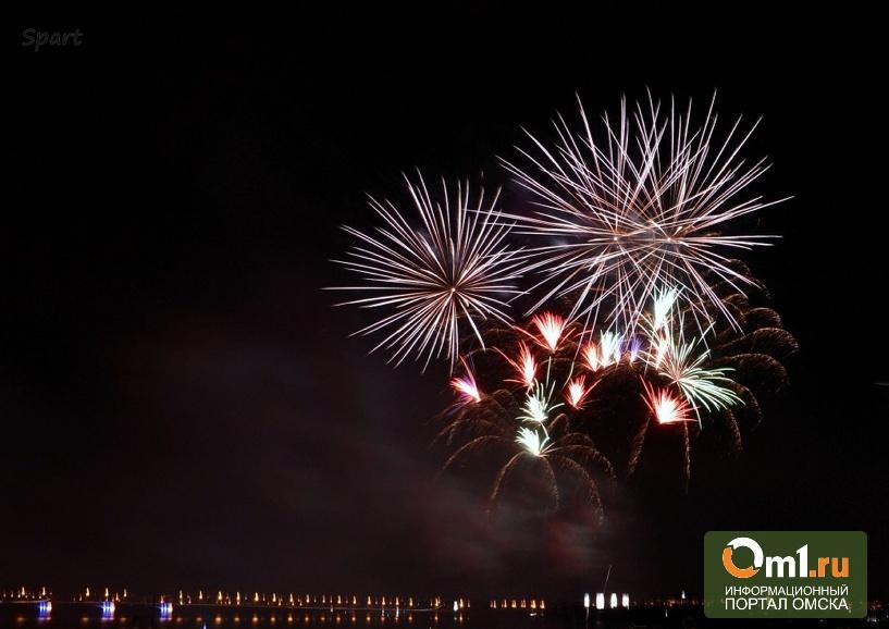 В День 300-летия Омска горожан будут пускать на салют через турникеты