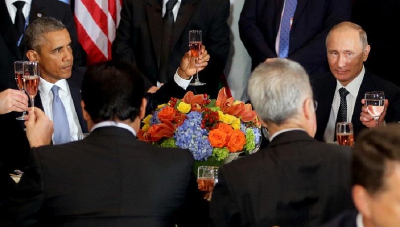 «Конструктивно и откровенно»: Путин и Обама впервые за два года провели личные переговоры