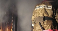 На пожаре в Омской области погиб мужчина