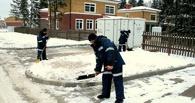 Мэрия напомнила предприятиям, что они обязаны убирать в Омске снег