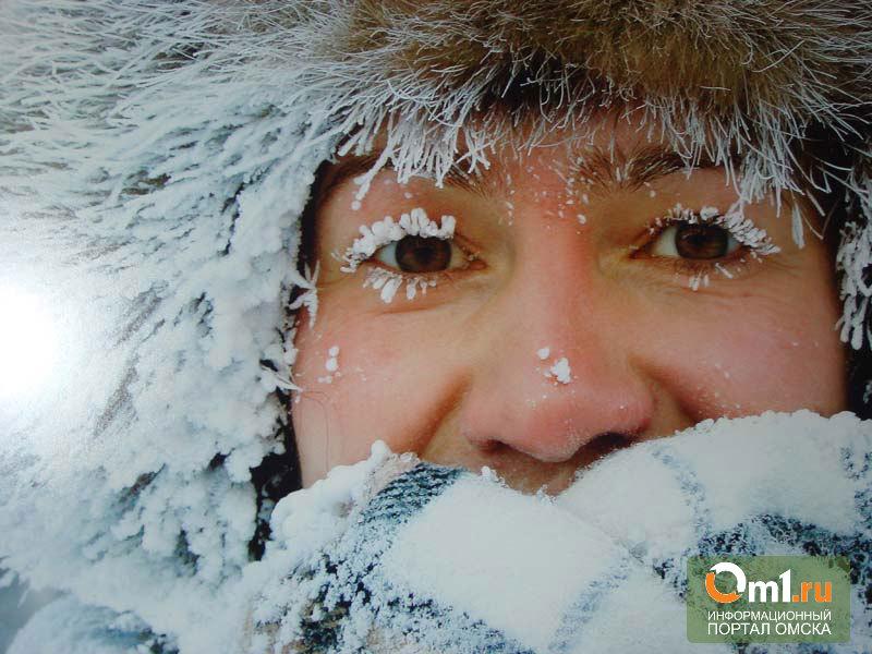Зима наверстывает упущенное: всю неделю в Омске будет -30