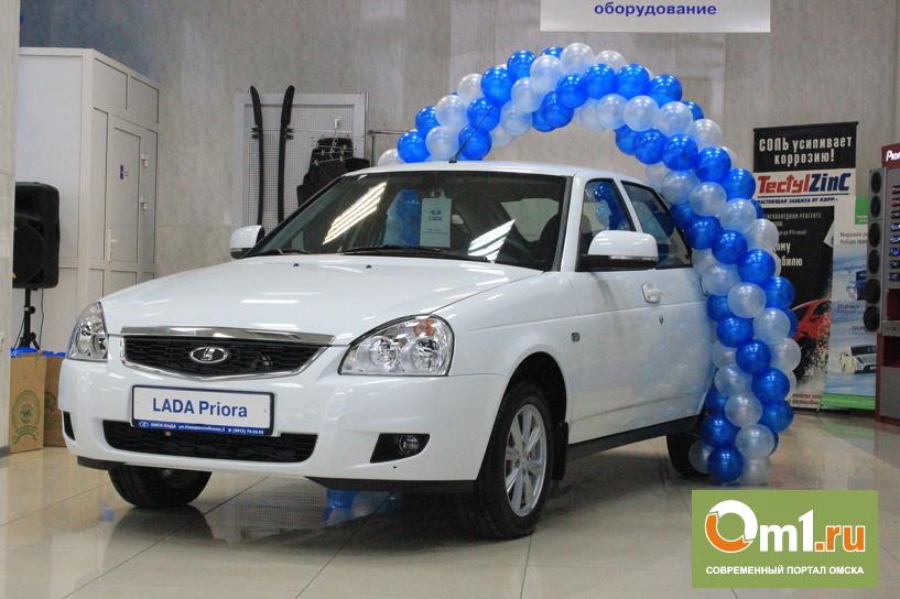 Омску официально показали новую Lada Priora