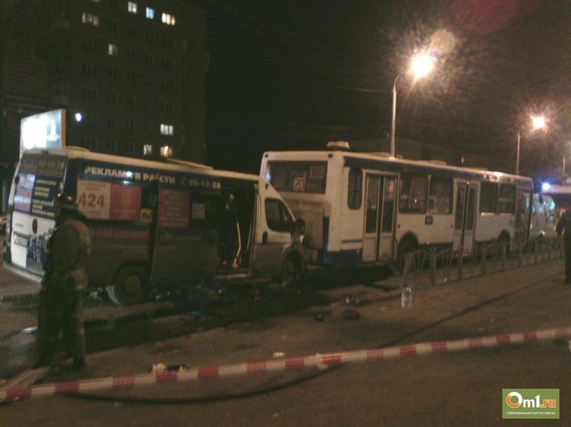 В Омске по факту аварии на Красном Пути возбуждено уголовное дело