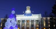 Новогоднее оформление Омского НПЗ оценили на «отлично»