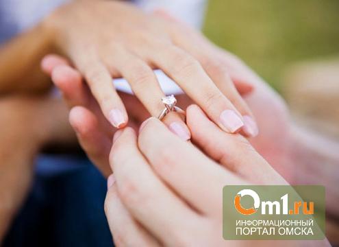 В Омске на Эстафете омич сделал предложение своей любимой