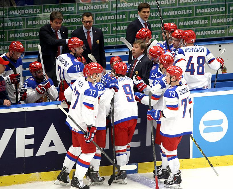 Первое поражение: Россия проиграла США на чемпионате мира по хоккею