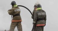 В Омской области на пожаре погиб мужчина