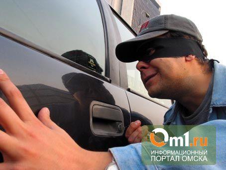 В Омске поймали автоугонщиков-неудачников