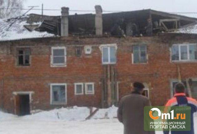 В Омской области обрушилась крыша сельской средней школы