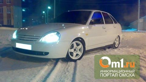 Угонщик «Лады Приоры» в Омской области не выдержал и уехал домой на маршрутке