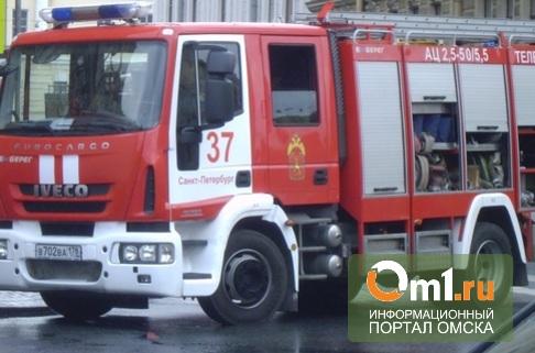 В Омске из-за пожара в подвале пятиэтажки эвакуировали 21 человека