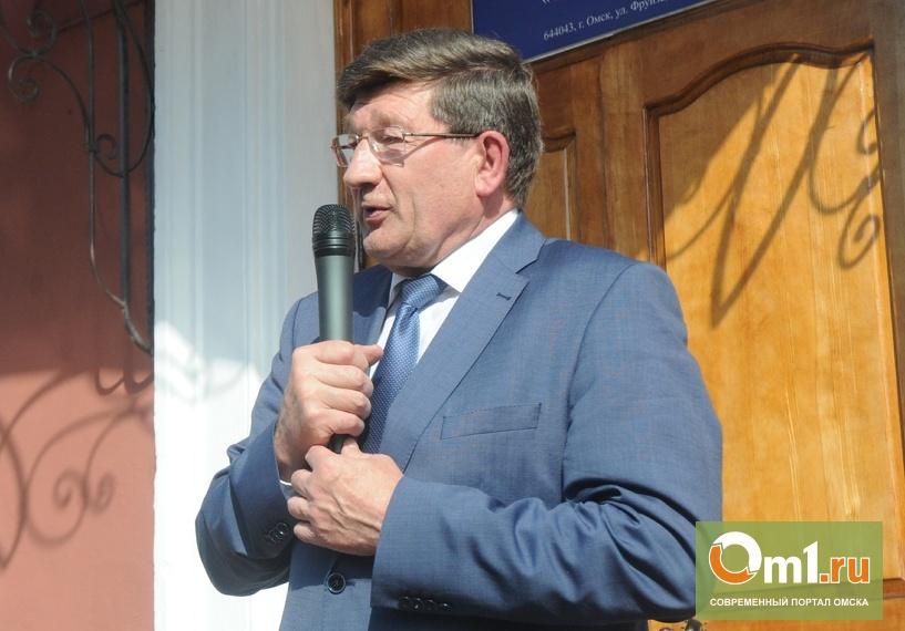 Двораковский заявил, что не вернулся из отпуска в Омск потому что не хотел пиариться