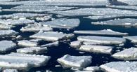В Омской области тронулся лед на Иртыше
