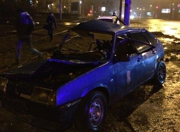Неопытный водитель столкнулся со «встречкой» в Омске