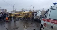 Очевидец трагедии с краном в Омске: Все произошло в один миг