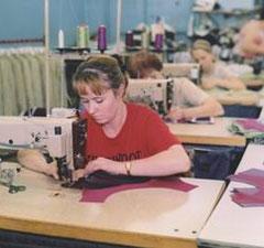 В Омском районе сгорел швейный цех текстильной фирмы «Орбита»