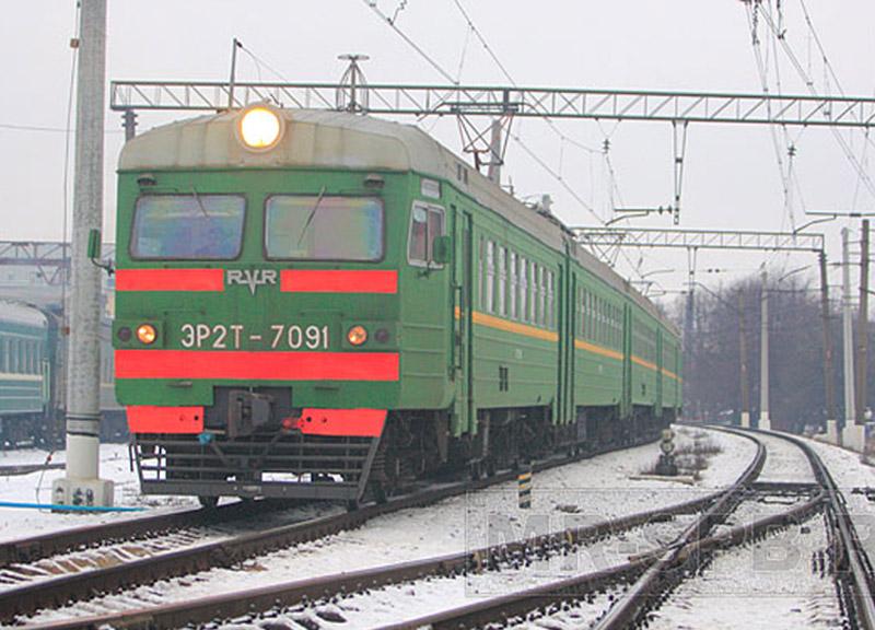 Под Омском сошла с рельс пассажирская электричка