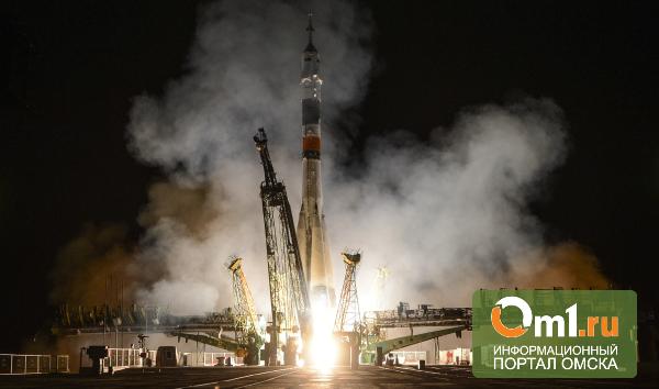 Омич сфотографировал запуск ракеты «Союз» в космос