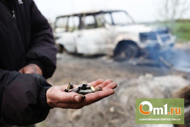 В результате расстрела «живой цепи» под Славянском погибли 10 человек