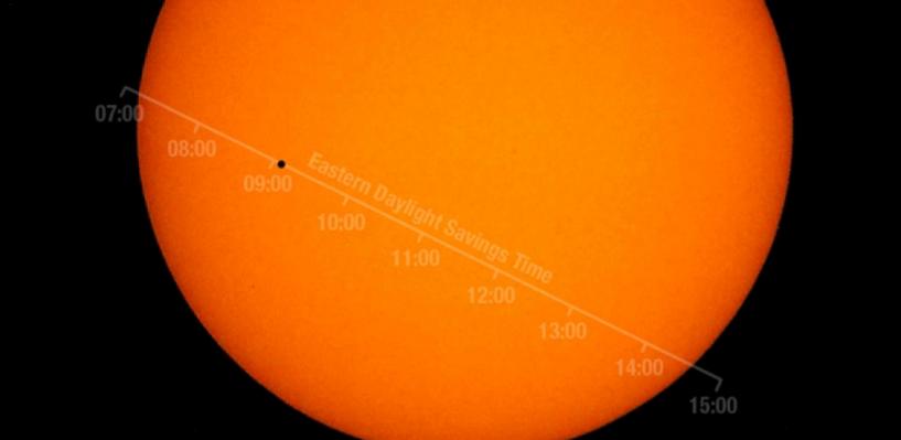 В День Победы Меркурий пересечет Солнце. Как увидеть редкое астрономическое явление