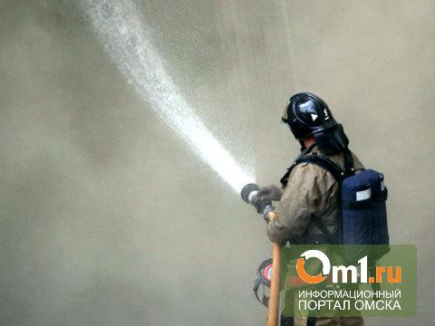 В Омске 30 жителей 5-этажки эвакуировали из-за горевших балконов