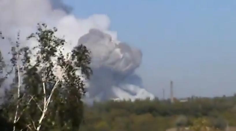 Киев нанес ракетный удар по военному заводу в Донецке