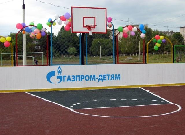 В Омске откроются еще 2 спортивные площадки от «Газпрома»