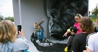 После фестиваля уличного искусства в Омске остался Кинг Конг и провал на стене