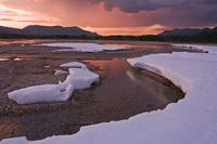 Русский географ опустился на дно «озера вечной мерзлоты»