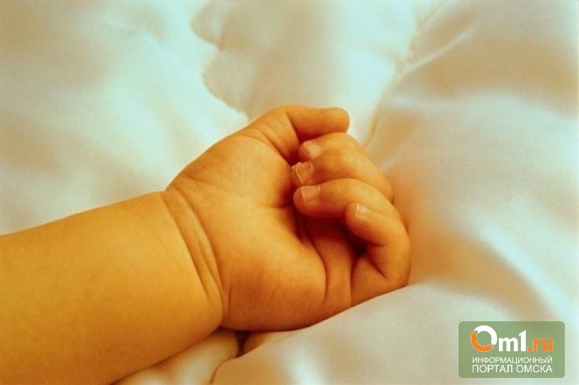 В Омской области 2-месячный младенец умер во сне рядом с матерью
