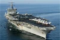 Американцы спустили на воду авианосец новейшего класса
