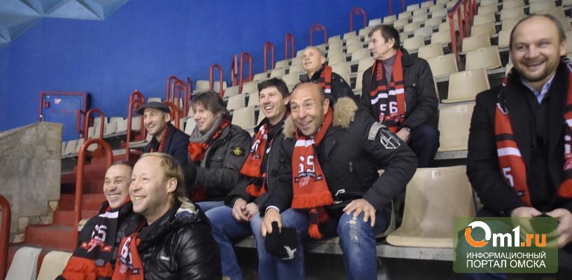 Сушинский вспомнил молодость в омском СКК имени Блинова