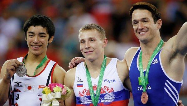 Российские гимнасты завоевали шесть медалей на ЧМ в Китае