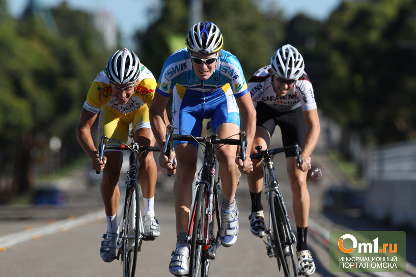 В Омске стартует чемпионат по велоспорту