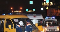 В Омске пассажирская маршрутка сбила пешехода