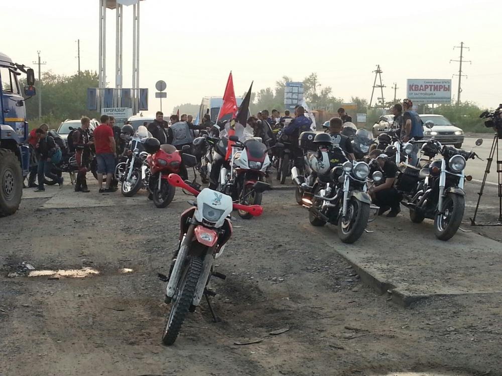 Кузбасские мотоциклисты примут участие впробеге «Волна памяти»