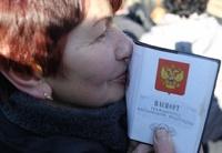 Более 5,5 тысяч украинцев просят гражданства в России