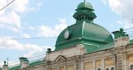 Часы на Любинском проспекте в Омске по-прежнему хранят молчание