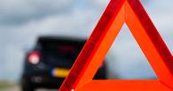 В Омске автоледи спровоцировала аварию из 6 машин на Левом берегу