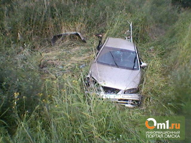 На трассе под Омском в ДТП погибли два человека
