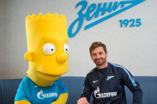 Мультяшки атакуют: Барт Симпсон подписал контракт с петербургским «Зенитом»