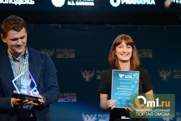 Омичка изобрела способ диагностики рака по слюне и получила миллион рублей