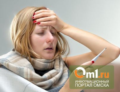 Омичам, больным гриппом и ОРВИ, советуют сидеть дома