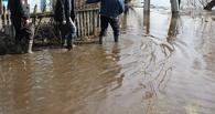 Из-за угрозы затопления из омского поселка вывезли детей