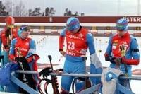 Антон Шипулин взял «бронзу» на этапе Кубка мира в Швеции