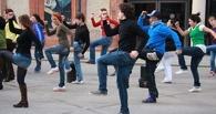 Омичи устроят в «Меге» танцевальный флешмоб