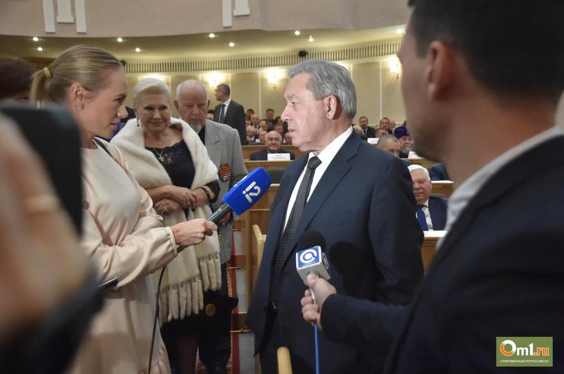 Полежаев воздержался от советов новому губернатору Омской области