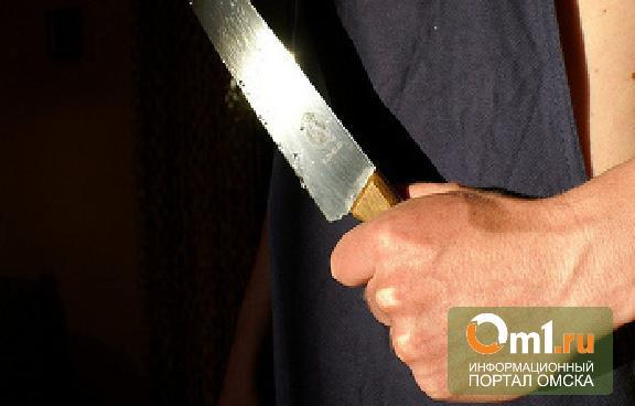 Пьяный омич с ножом набросился на полицейского